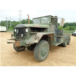 KAISER M52A2 MILITARY TRUCK, VIN/SN:9624-11305 - 6X6, 5 TON, DIESEL ENGINE, 5 SPEED TRANS, 11.00-20