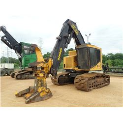 TIGERCAT 822 FELLER BUNCHER, VIN/SN:10276 - TRACK MTD, TIGERCAT ST5401 ROTATING SAW HEAD, CAB, A/C,