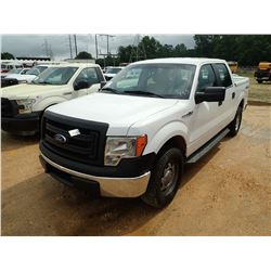 2014 FORD F150 PICKUP, VIN/SN:1FTFW1EF9EKE92566 - 4X4, CREW CAB, V8 GAS, A/T, BED COVER, ODOMETER RE