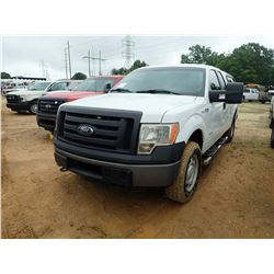 2011 FORD F150 PICKUP, VIN/SN:1FTFX1ET9BFC74179 - 4X4, EXTENDED CAB, 6 CYL ECO BOOST GAS ENGINE, A/T