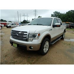 2013 FORD F150 PICKUP, VIN/SN:1FTFW1EF7DFA42194 - 4X4, CREW CAB, GAS, A/T, MILES 298,663 MILES