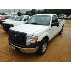 2011 FORD F150 PICKUP, VIN/SN:1FTMF1CM7BKD12666 - V6 GAS ENGINE, A/T, ODOMETER READING 140,508 MILES
