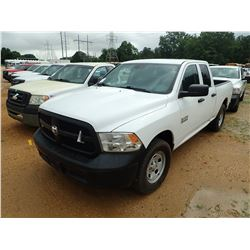 2016 RAM 1500 PICKUP, VIN/SN:1C6RR7FG4GS266928 - 4X4, EXT CAB, GAS ENGINE, A/T, ODOMETER READING 97,
