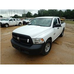 2015 DODGE RAM 1500 PICK UP, VIN/SN:1C6RR6FG7FS668547 - EXT CAB, V8 GAS ENGINE, A/T, ODOMETER READIN