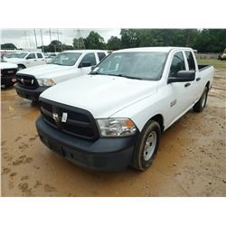 2014 DODGE RAM 1500 PICKUP, VIN/SN:ES350372 - EXT CAB, V6 GAS ENGINE, A/T, ODOMETER READING 115,013