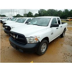 2014 DODGE RAM PICK UP, VIN/SN:1C6RR7FG4ES167555 - EXT CAB, V8 GAS ENGINE, A/T, ODOMETER READING 133