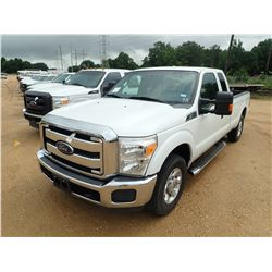 2014 FORD F250 PICKUP, VIN/SN:1FT7ZX2A6XEEB43119 - EXTENDED CAB, V8 GAS ENGINE, A/T, ODOMETER READIN