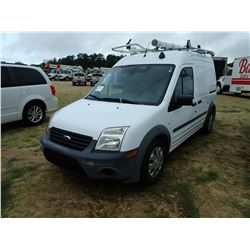 2012 FORD TRANSIT CONNECT CARGO VAN, VIN/SN:NM0LS7AN2CT083862 - PROPANE ENGINE, A/T