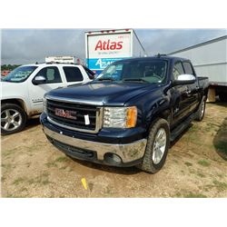2008 GMC SIERRA PICKUP, VIN/SN:81219305 - TEXAS EDITION, CREW CAB, A/T, ODOMETER READING 131,248 MIL