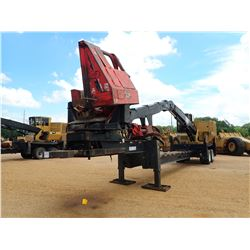 2014 CAT 559C LOG LOADER, VIN/SN:KAS00361 - CAB, A/C, CTR 426 DELIMBER MTD ON PITTS TRAILER, HYD LAN
