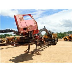 CAT 559B DS LOG LOADER, VIN/SN:PR63899 - CAB, A/C, CTR 426 DELIMBER MTD ON EVANS TRAILER S/N: 003065