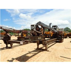 PRENTICE 210E LOG LOADER, VIN/SN:P53319 - CAB, MTD ON PITTS TRAILER, S/N 960443