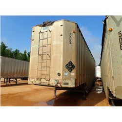 1999 PEERLESS 45-CTSDC CHIP TRAILER, VIN/SN:1PLE04521XPA28255 - T/A, POSSUM BELLY, 45' LENGTH, PULL