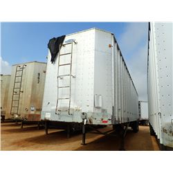1999 PEERLESS 43-CT3 CHIP TRAILER, VIN/SN:1PLE04321XPB28147 - T/A, 43' LENGTH, 385/65R22.5 TIRES