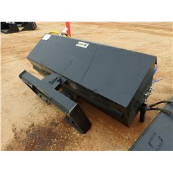 76  BROOM, FITS SKID STEER LOADER (B5)