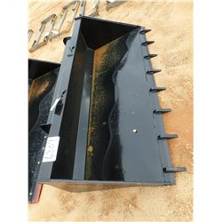 78  BUCKET W/ BOCE FITS SKID STEER LOADER (B-5)