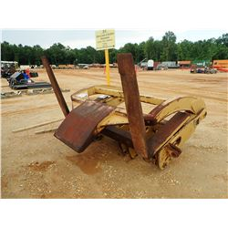 WICKER WLF938G FORKS W/TOP CLAMP, - FITS WHEEL LOADER (B-6)