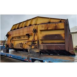 BALDERSON CAT D10 DOZER BLADE, - (SELLING ABSENTEE: LOCATED AT 1831 HOLLYWOOD AVENUE, PENSACOLA, FLO