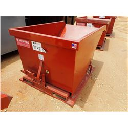 1 YARD SELF DUMPING HOPPER (B-7)
