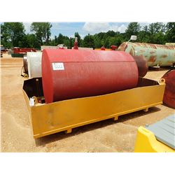 FUEL STORAGE TANK W/SPILL PAN (B-7)