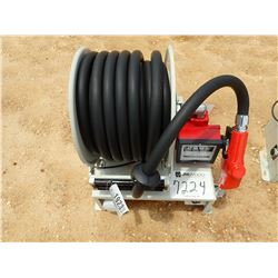 DIESEL PUMP 110 VOLT AC, W/ HOSE & NOZZLE (B-7)
