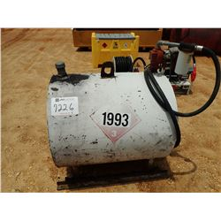 FUEL STORAGE TANK W/ PUMP & NOZZLE (B-7) (COUNTY OWNED)