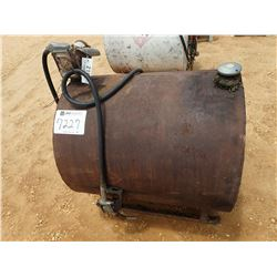 FUEL STORAGE TANK W/PUMP & NOZZLE (B-7) (COUNTY OWNED)