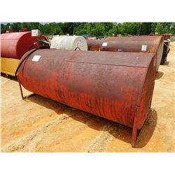 FUEL STORAGE TANK W/ PUMP & HOSES