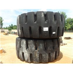 (2) 45/65R45 TIRES (B-8) (UTILITY CO OWNED)