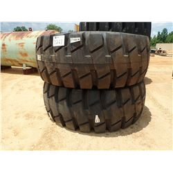 (2) 33.25-25 TIRES (UNUSED) (B-8)