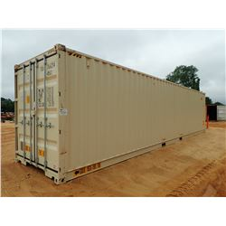 40' STEEL SHIPPING CONTAINER (B-9)