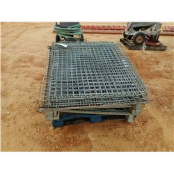(3) METAL FOLDUP CAGES (B-9)