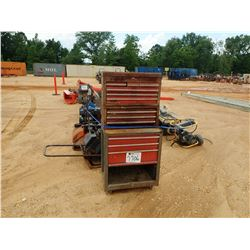 MISC LOT - (1) WELDER, (4) GENERATOR, (3) AIR COMPRESSOR, (2) PRESSURE WASHER, (2) TAMPS, (3) TOOL B