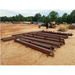 16' X 60' METAL BUILDING FRAME W/PURLINS (B-9)