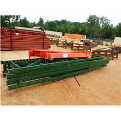 PALLET RACK W/SUPPORT POSTS (B-9)