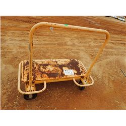 4 WHEEL METAL CARTS, 3,000# CAP (B-9)