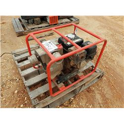 WATER PUMP, - PORTABLE, GAS ENGINE (PARTS ONLY) (B-9)