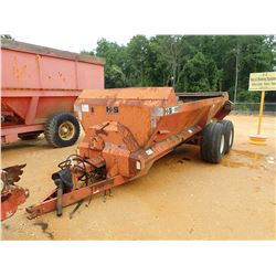 BAGGETT H&S 2600 HYDRAULIC SEEDER, - 16' LENGTH (COUNTY OWNED) (C-1)