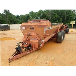 BAGGETT H&S 2600 SPREADER, - 16' LENGTH (COUNTY OWNED) (C-1)