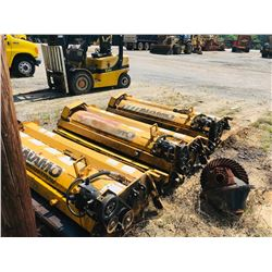 ALAMO IS74-R MOWER, VIN/SN:61156 - 6' CUT, SIDE MOUNT FLAIL MOWER (SELLING OFFSITE LOCATED AT 1717 V