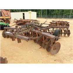 ATHEN 131 DISC HARROW, PULL TYPE (C-3)