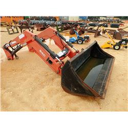 MASSEY FERGUSON 940 LOADER BUCKET W/ARMS, FITS 400, 500, 600 SERIES FARM TRACTOR (C-3)