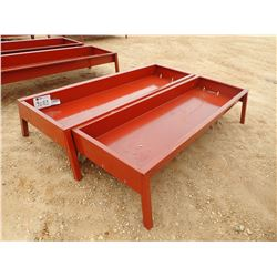 "(2) 30"" X 90"" METAL FEED BUNK (C-4)"