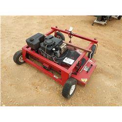 """SWISHER 60"""" MOWER W/GAS ENGINE, PULL TYPE (C-5)"""