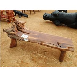 TEAKWOOD CHAISE (C-6)