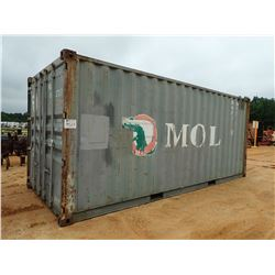 20' STEEL SHIPPING CONTAINER (C-8)