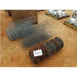 (3) ROLL GAV FENCE WIRE (C-8)