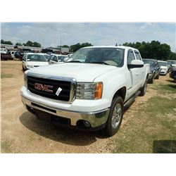 2009 GMC SIERRA VIN/SN:3GTEC33099G262196 - CREW CAB, V8 GAS, A/T, ODOMETER READING 204,917 MILES