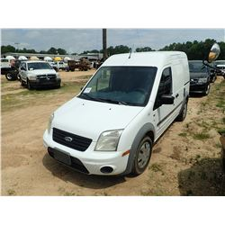 2013 FORD TRANSIT CONNECT CARGO VAN, VIN/SN:NMOLS7DNXDT154917 - GAS ENGINE, A/T, ODOMETER READING 16