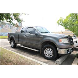 2006 FORD F150 PICKUP, VIN/SN:1FTPX145X6NA07832 - GAS ENGINE, AT, ODOMETER READING 110,425 MILES (SE